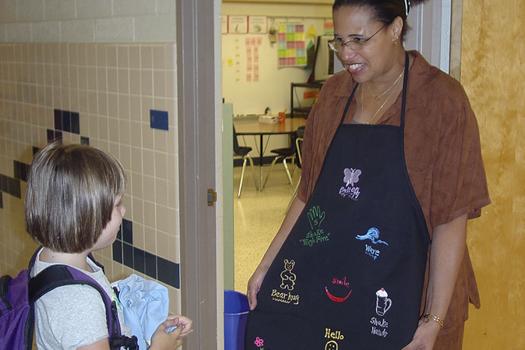 Classroom Ideas Middle School ~ Greetings conscious discipline
