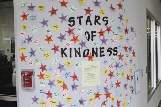 Classroom Tree Ideas ~ Kindness tree conscious discipline
