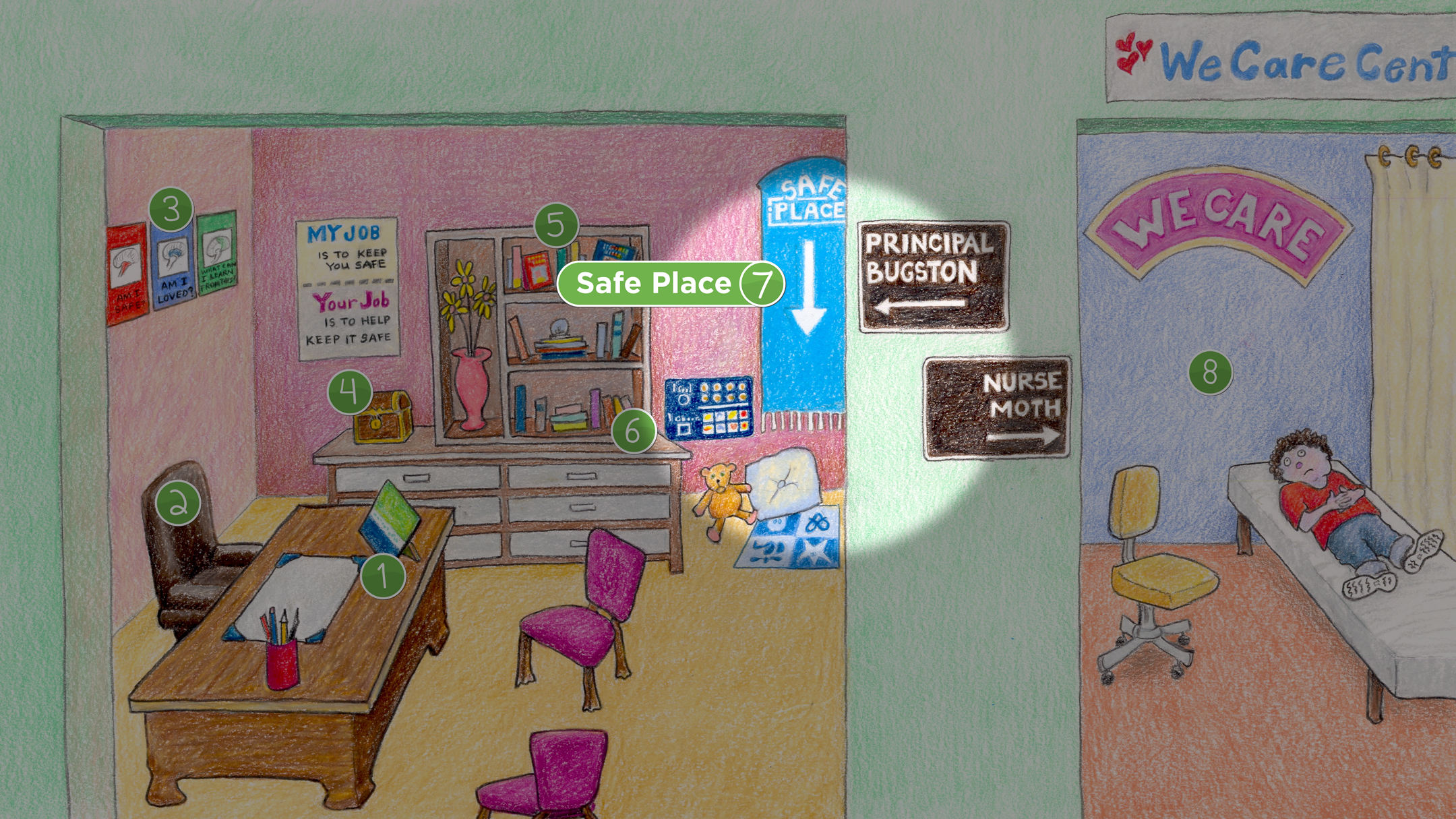 Principal & Clinic: Safe Place