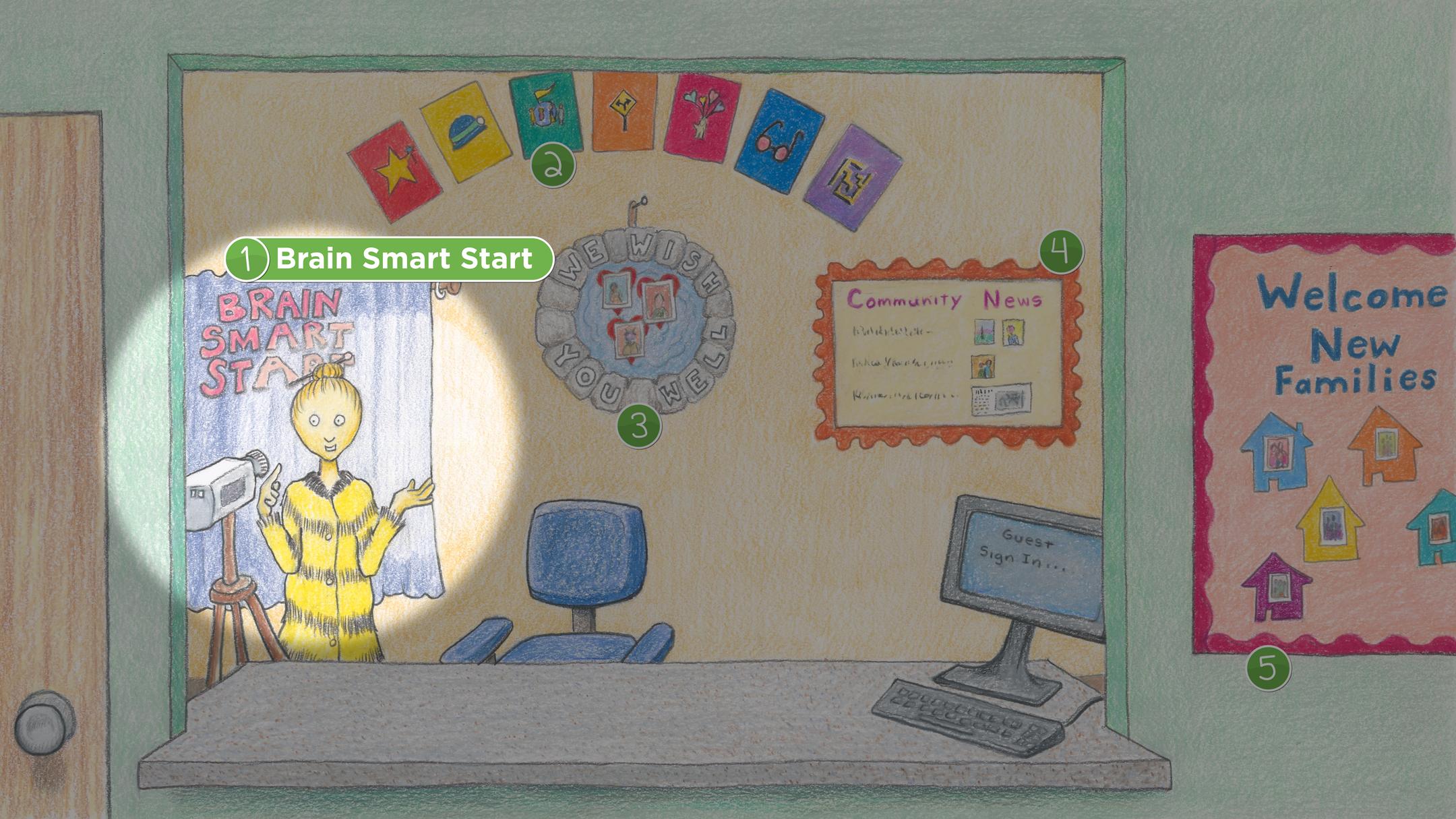 Reception: Brain Smart Start