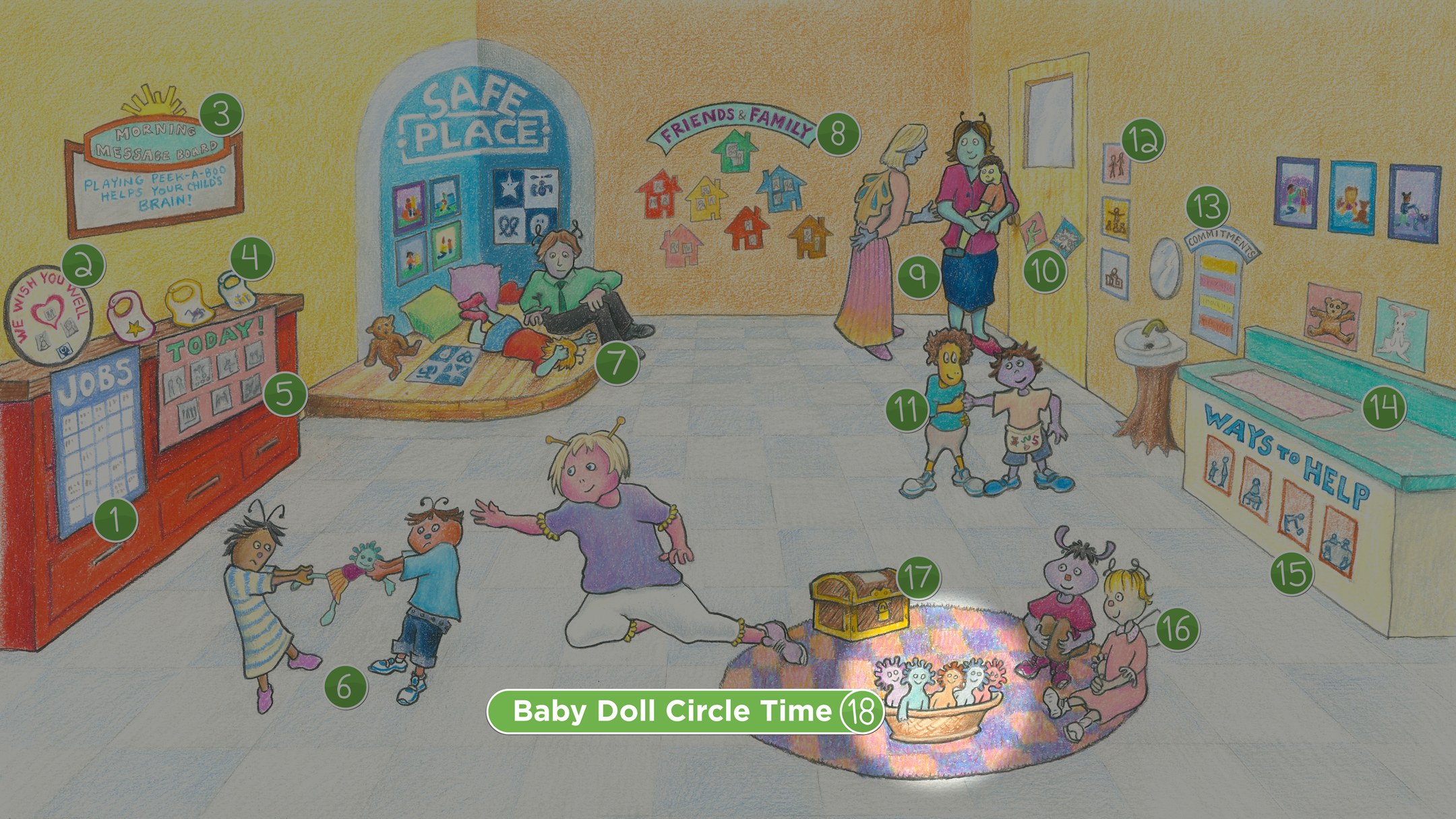 Sophie's Classroom: Baby Doll Circle Time