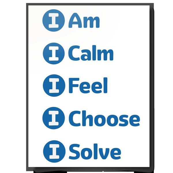 5 Steps to Self-Regulation Icons