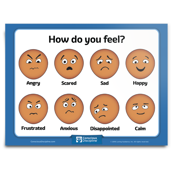 Resource: How Do You Feel Chart | Conscious Discipline