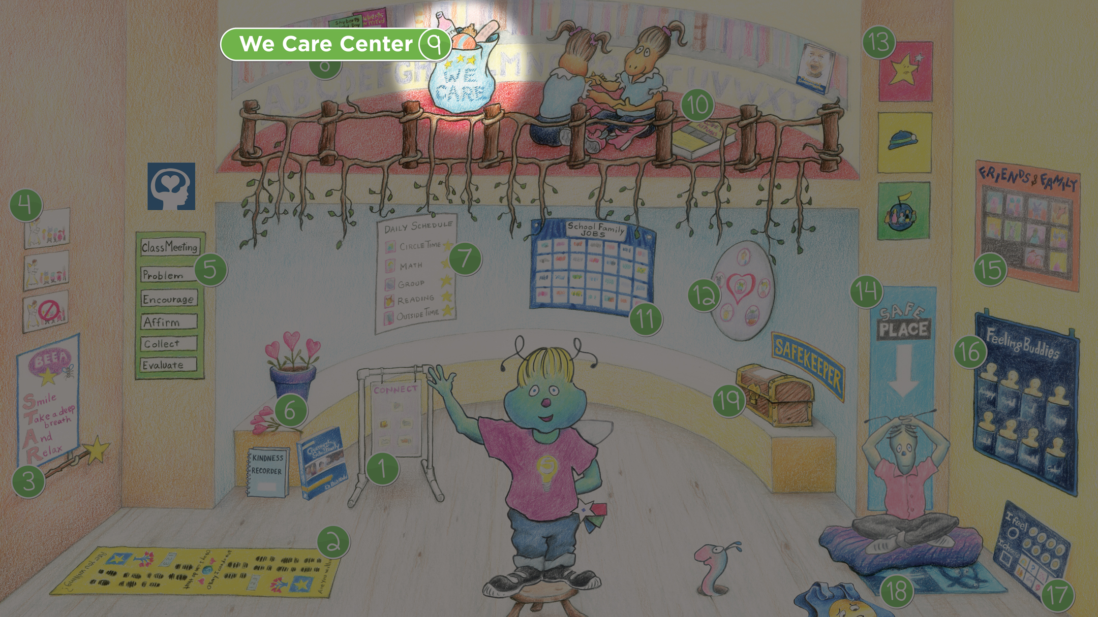 Shuberts Classroom We Care Center