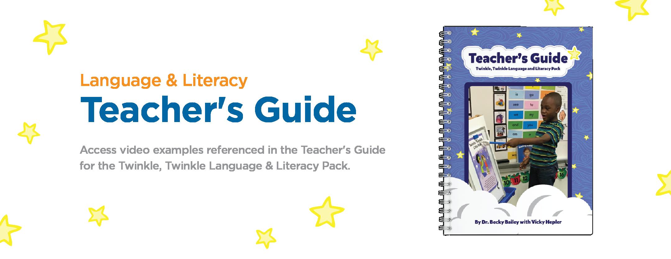 Language & Literacy: Teacher's Guide