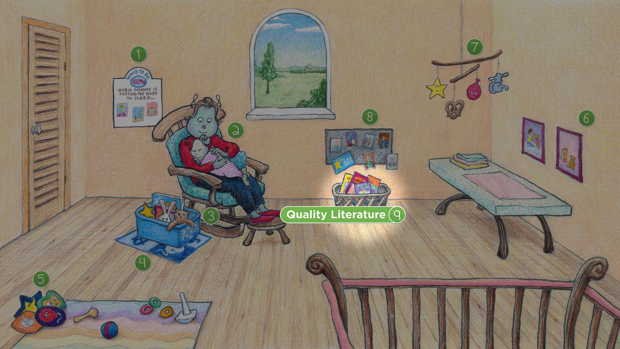 Nursery Room: Quality Literature