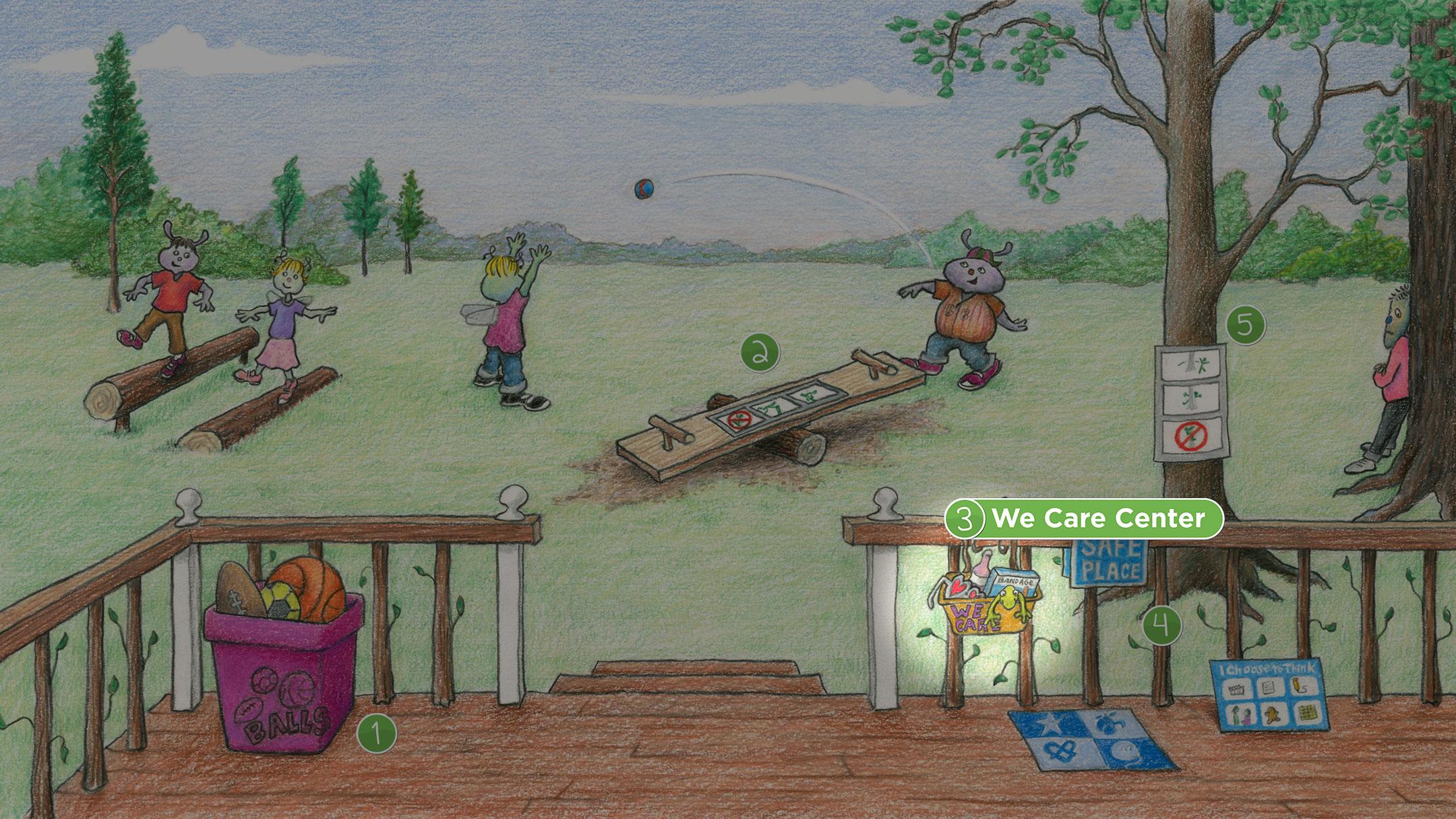 Backyard: We Care Center