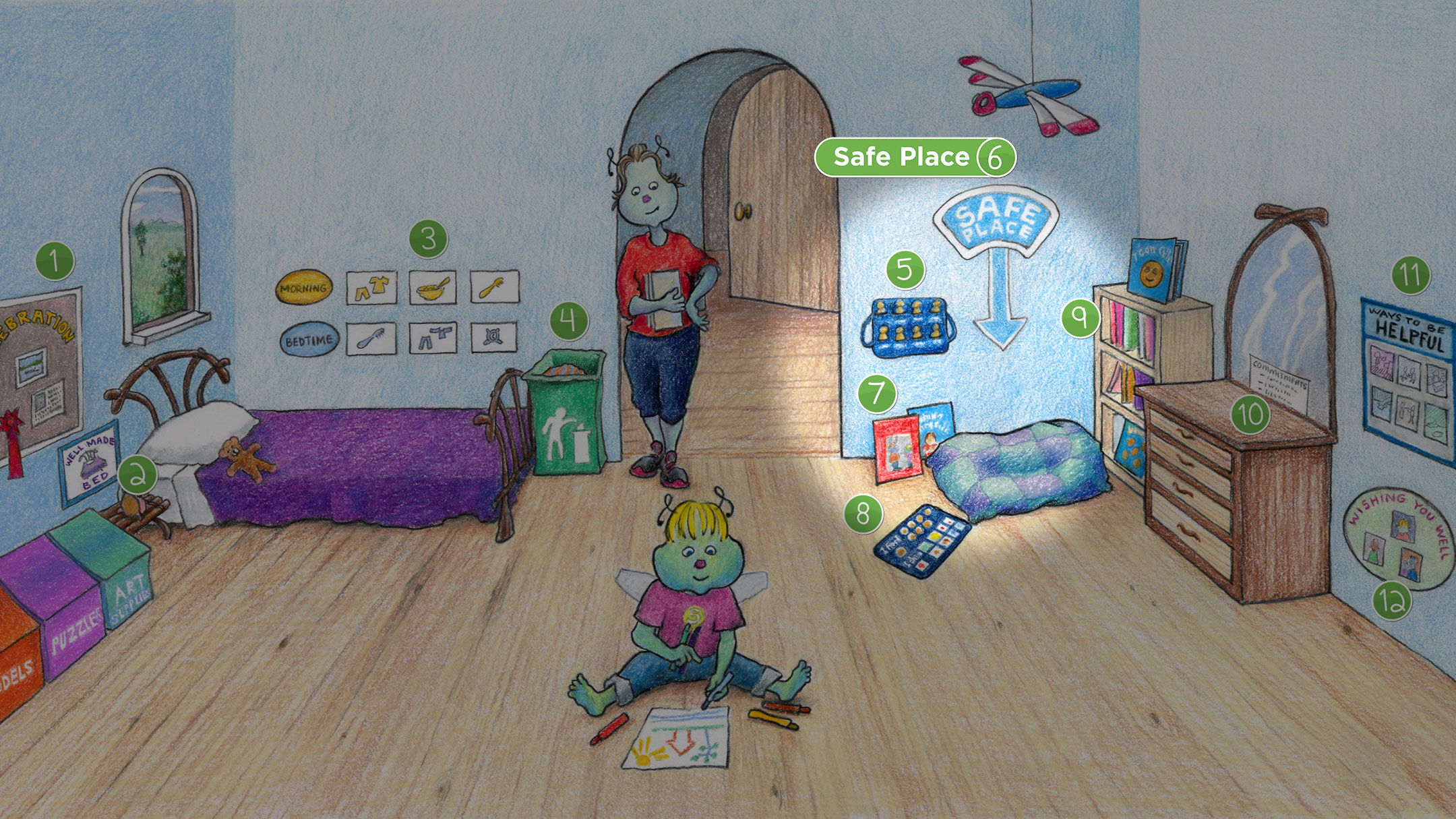 Elementary Age Room: Safe Place