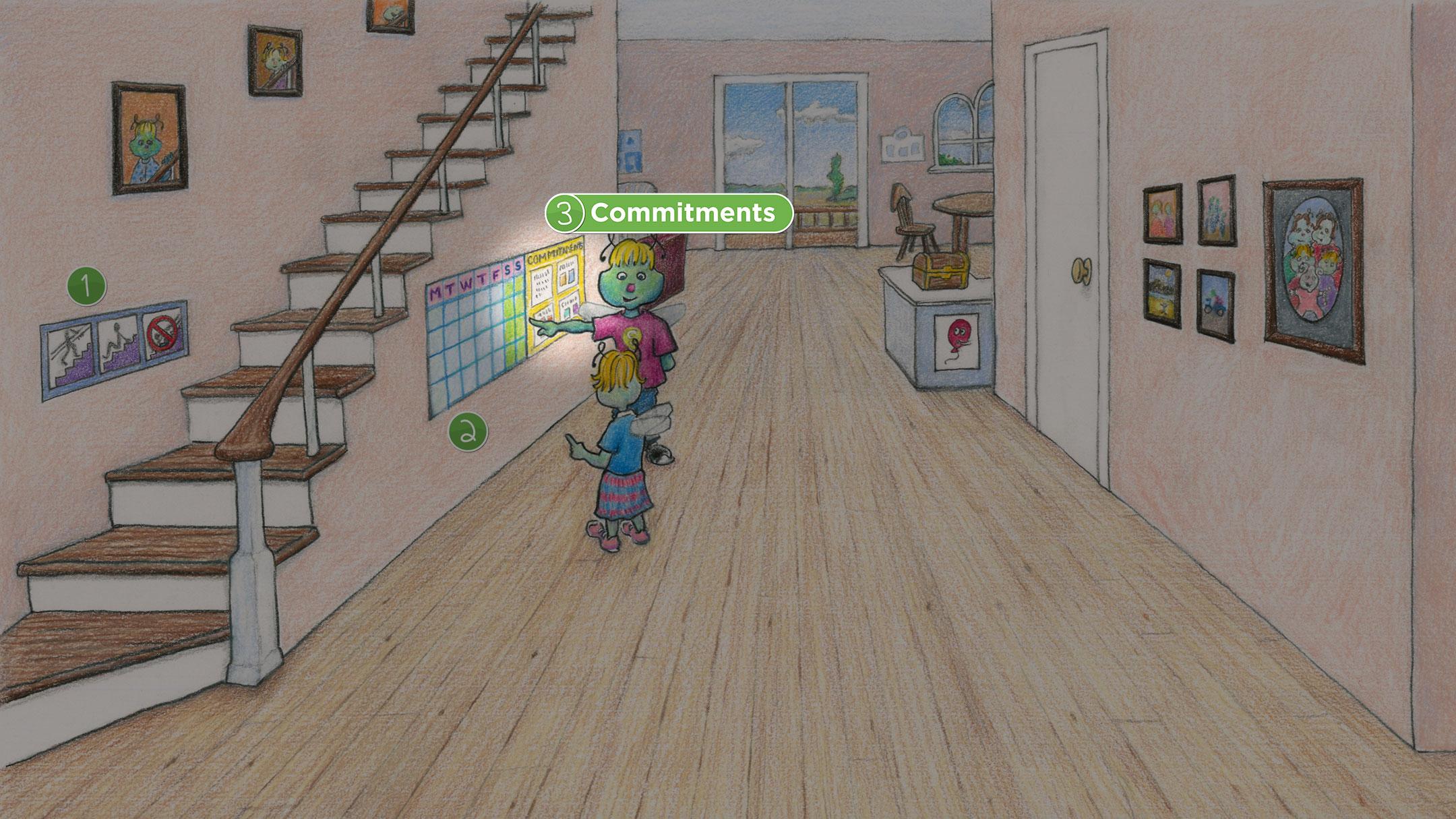 Hallway: Commitments
