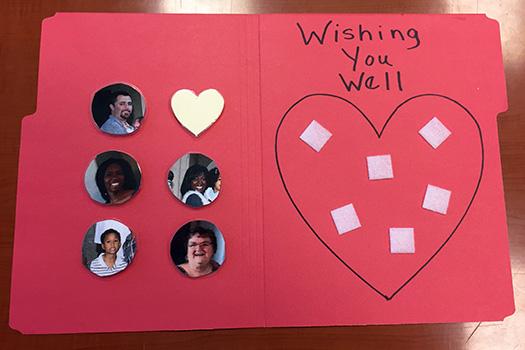 Elementary: Wish Well Ritual Homemade Folder