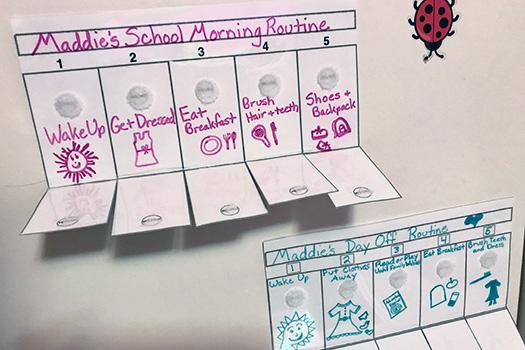 Elementary: Visual Routine