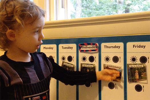 Hallway: Weekly Schedule