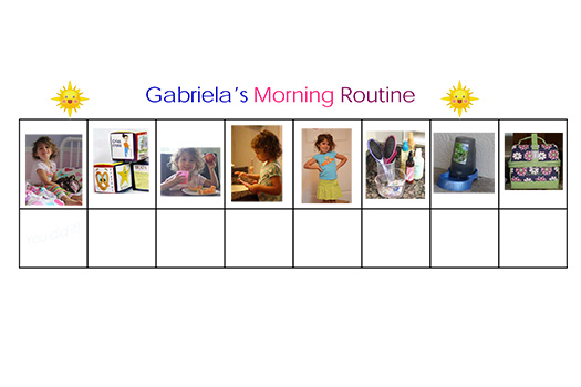 Toddler Room: Visual Routine