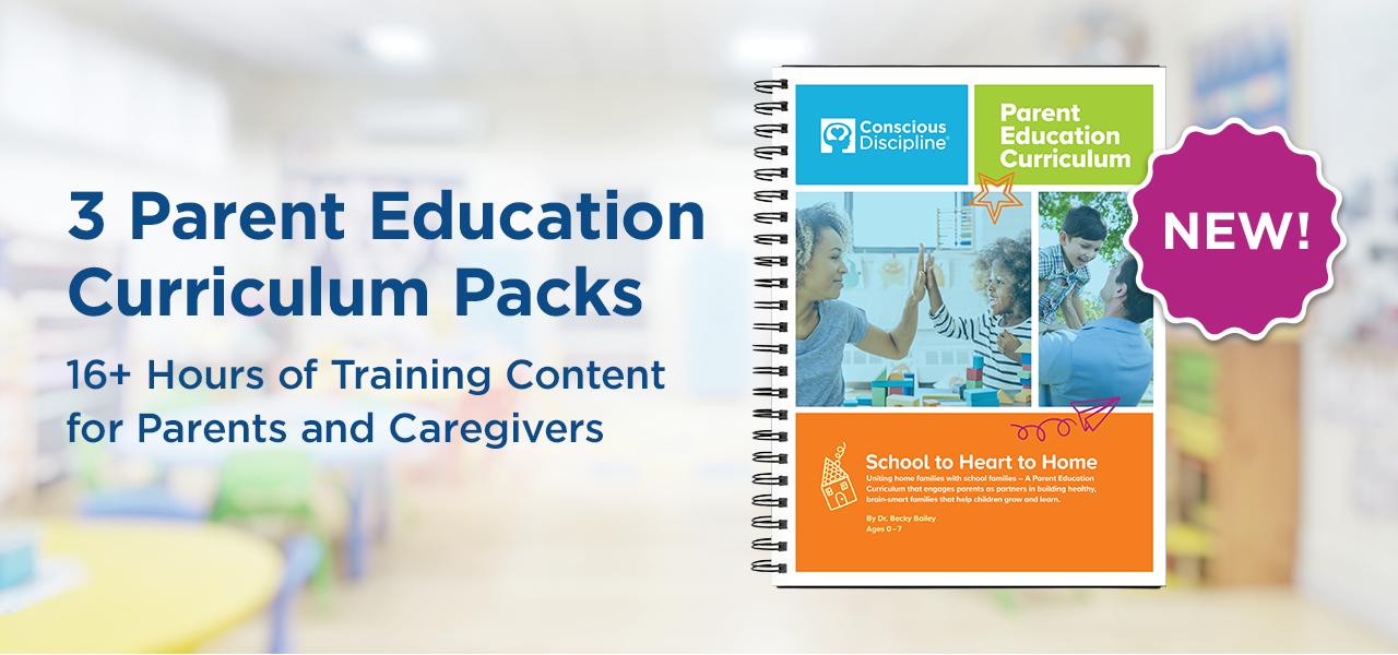 3 Parent Education Curriculum Pack