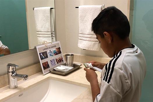 Visual Routine - Brushing Teeth
