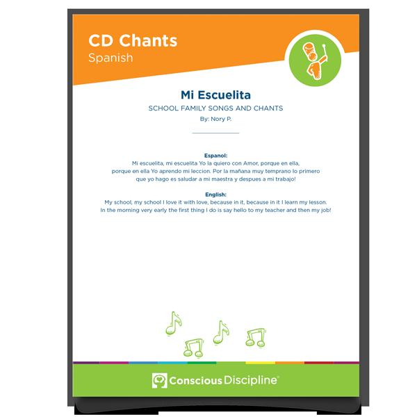 Conscious Discipline Chants: Mi Escuelita