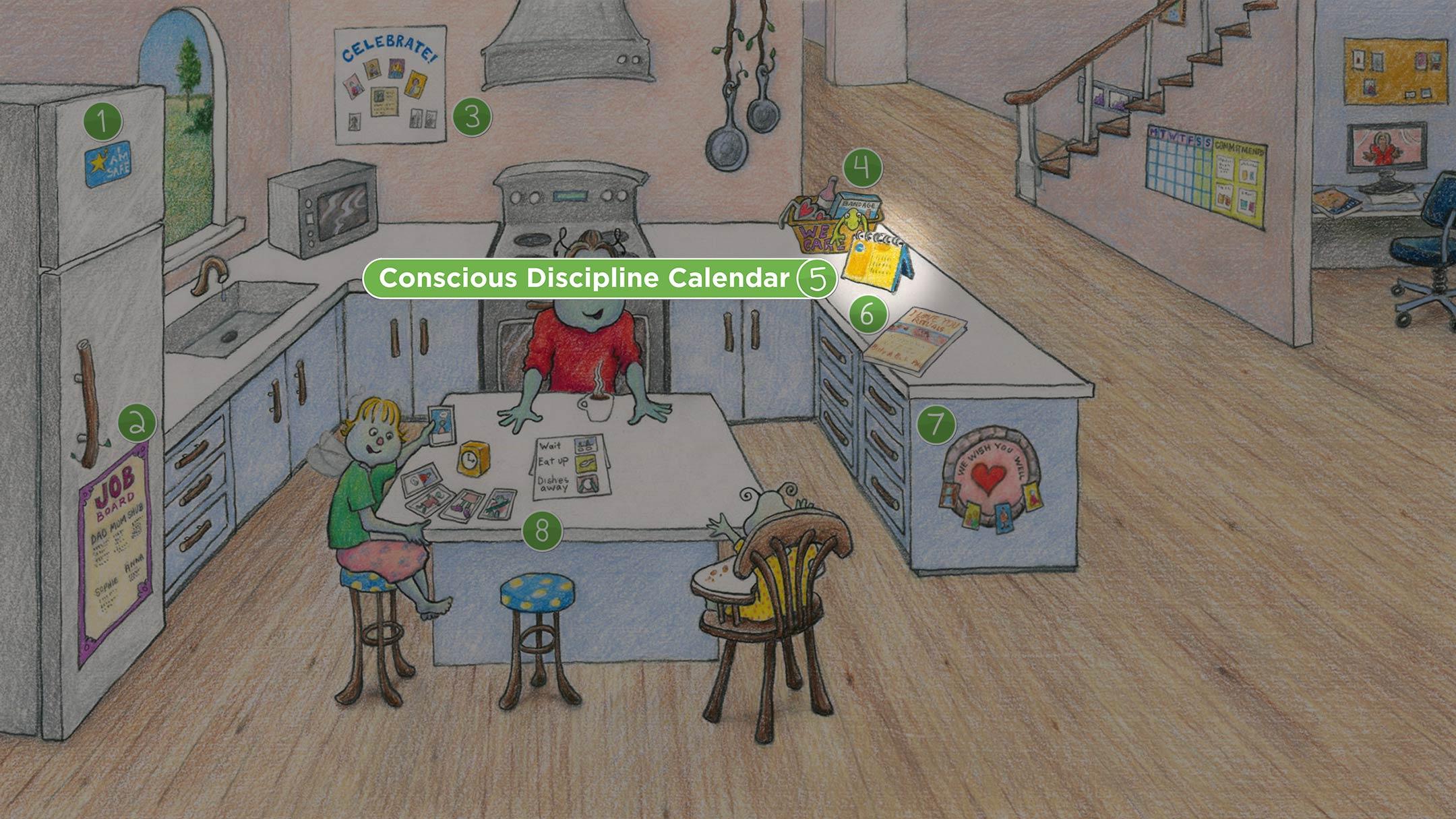 Kitchen: Conscious Discipline Calendar