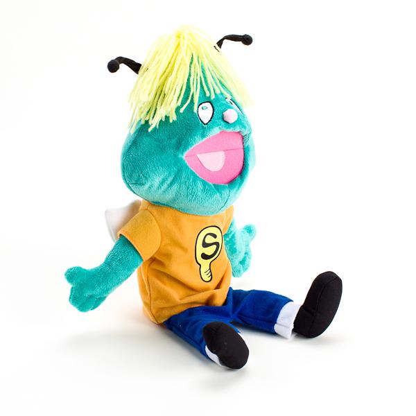 Shubert Puppet - side of Shubert Puppet- thumbnail image