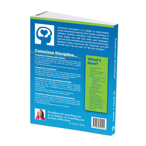 Conscious Discipline Newly Expanded and Updated Book - Back Cover - Product Image