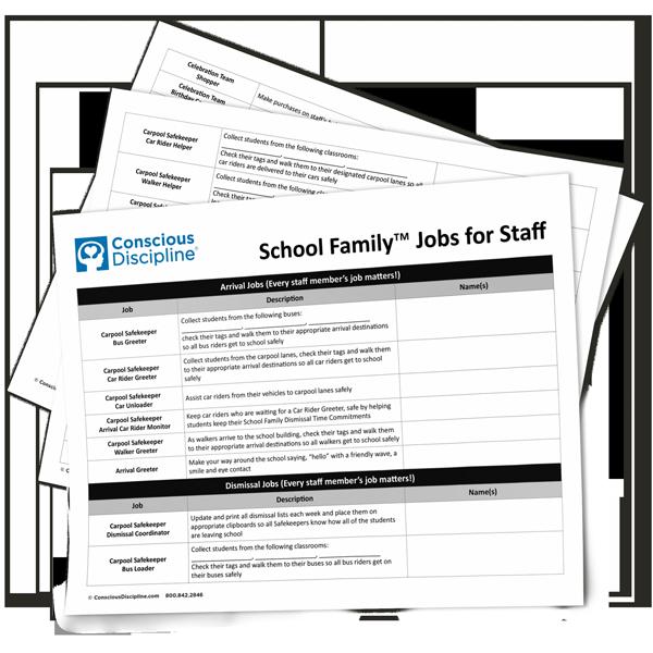 School Family Jobs