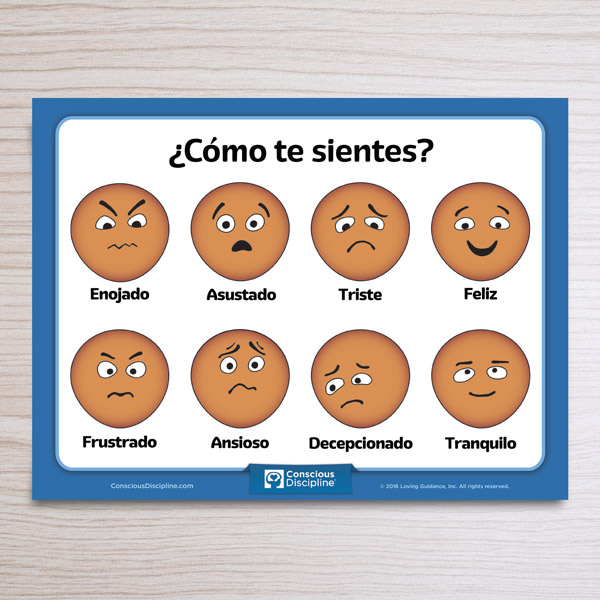 Como te Sientes Spanish Resource