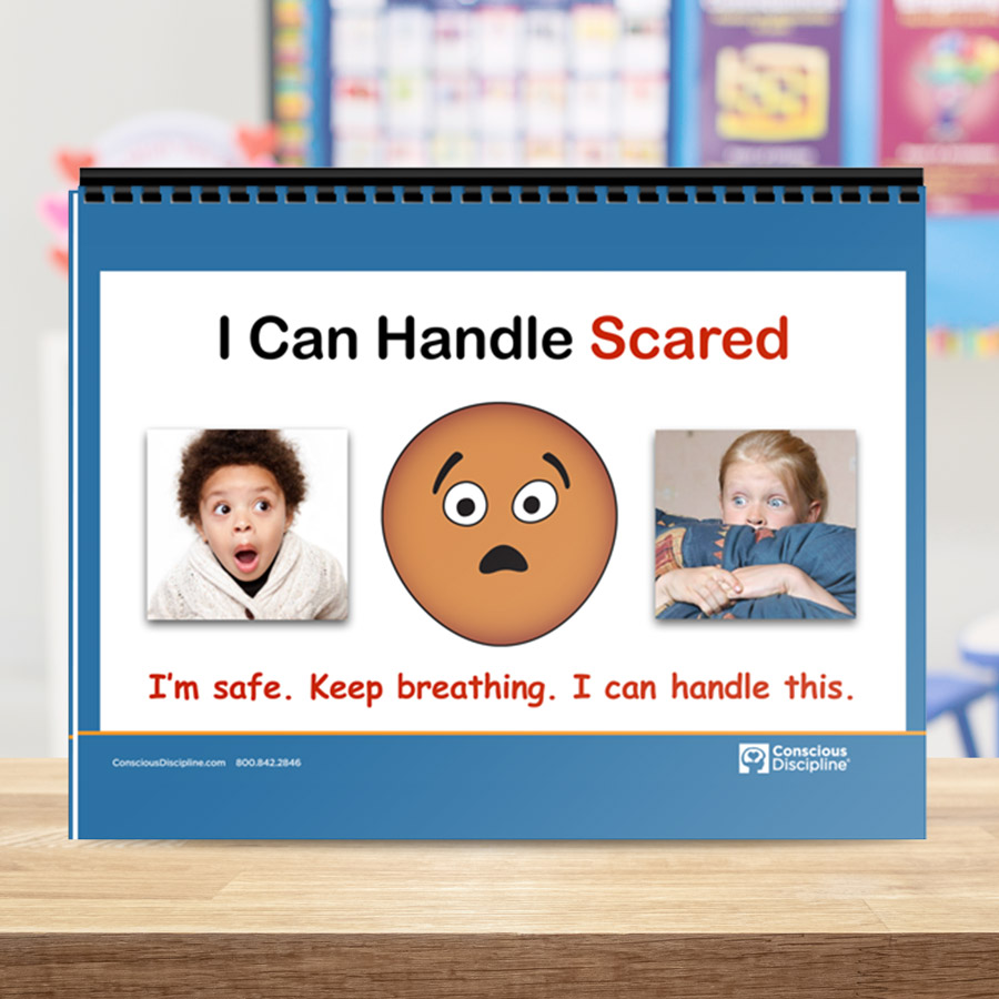 Free Printable: I Can Handle Scared