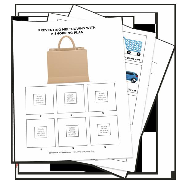 Free Resource: Visual Shopping Plan
