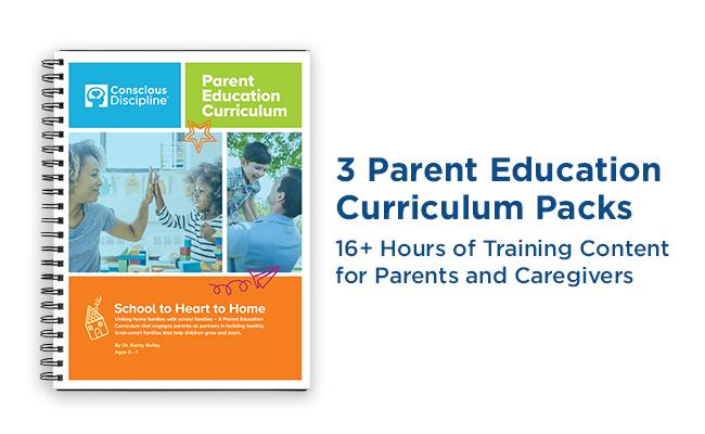 3 Parent Education Curriculum Packs