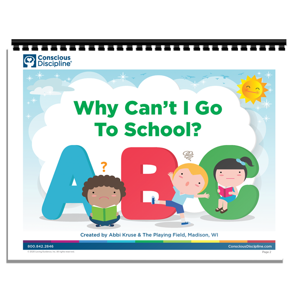 Printable: Why Can't I Go To School Social Story