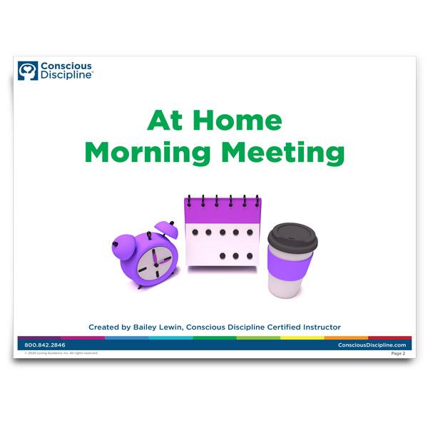 At Home Morning Meeting