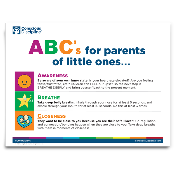 ABC's for Parents of Little Ones