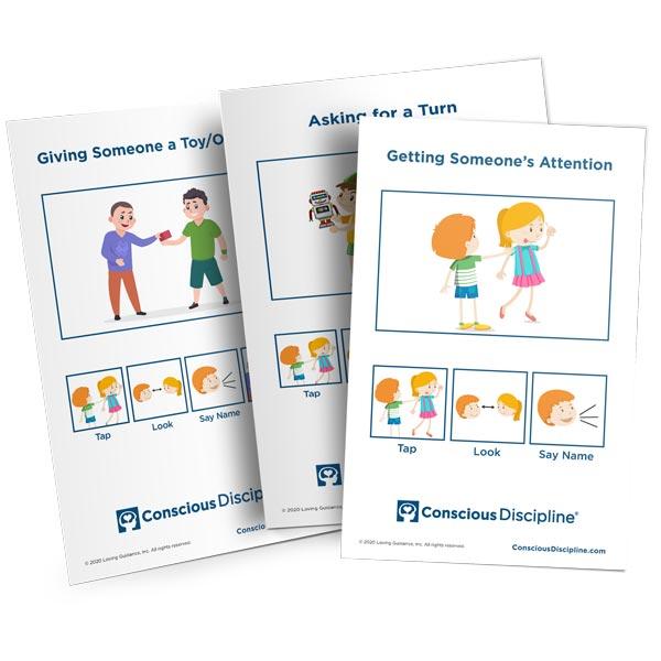 Social Skills to Teach (Social Skills Cards)
