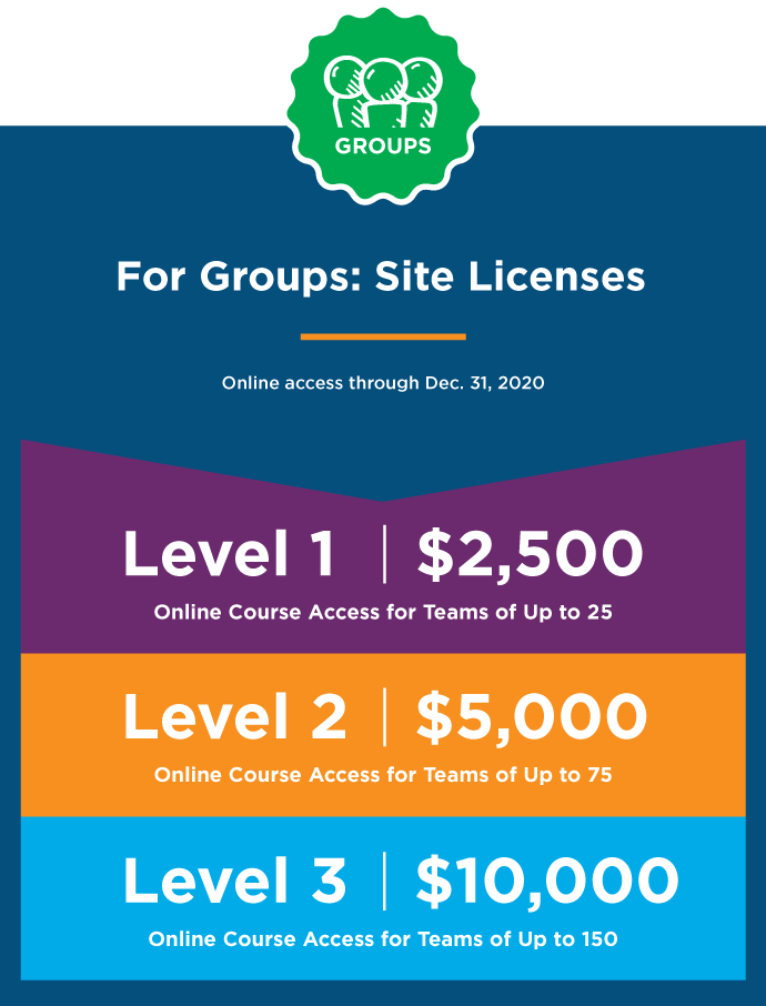 ECourse: Site Licenses: Building Resiliency