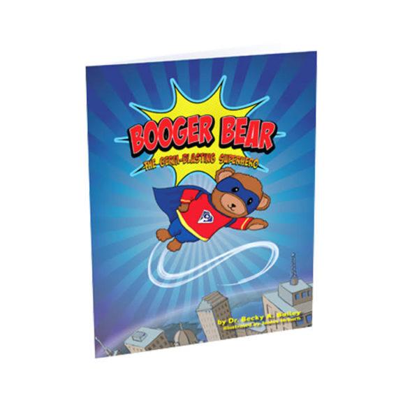 Booger Bear Germ Blasting Superhero book - thumbnail