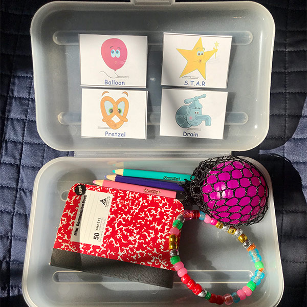 Help Kids Calm with a Portable Safe Place for Distance Learning Safe Place Portable Kit