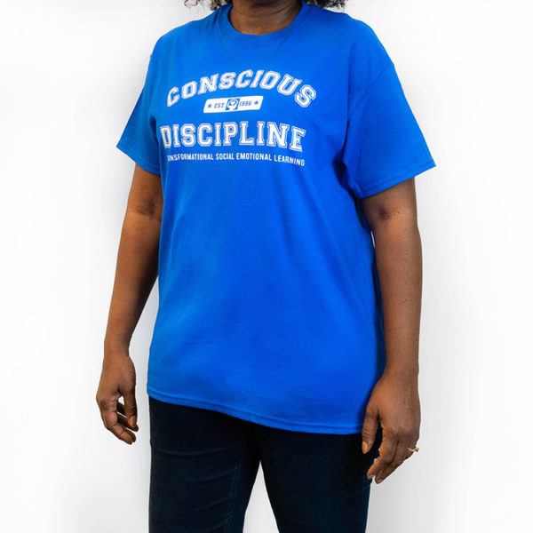 Womens Conscious Discipline T-Shirt - Transformational Social Emotional Learning