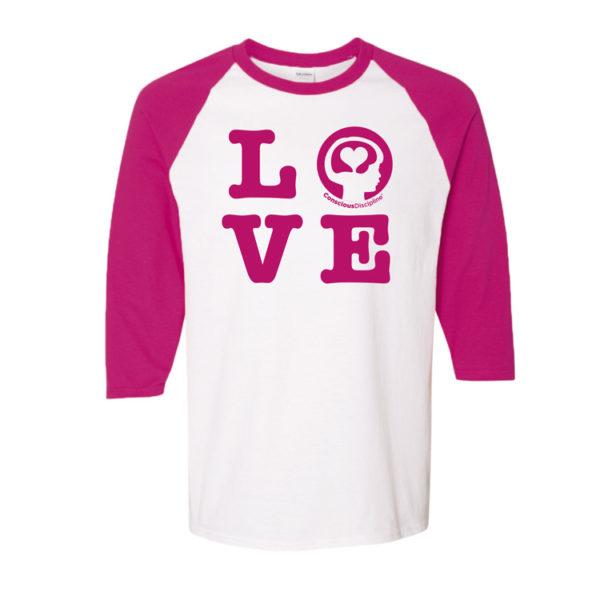 Pink Love Shirt_Front